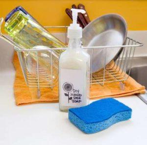 Как приготовить средство для мытья посуды своими руками