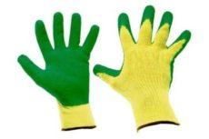 Особенности и выбор рабочих прорезиненных перчаток