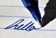 Как отстирать ручку с белой одежды