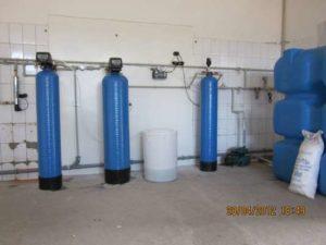 Система умягчения и обезжелезивания воды
